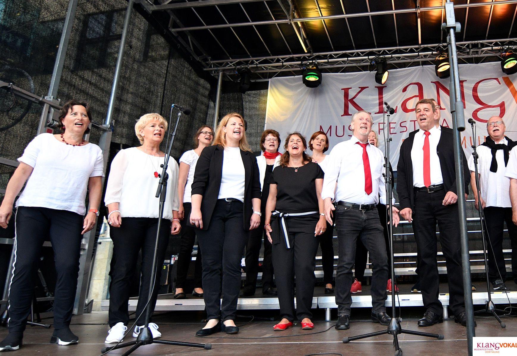 """Die Florian Singers beim Musikfestival """"KLANGVOKAL"""" in Dortmund am 15.06.19 // ©Bülent Kirschbaum"""
