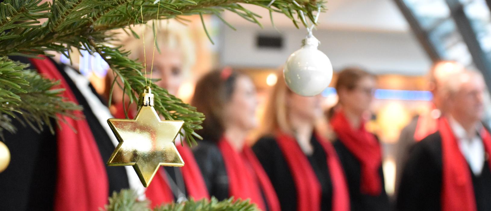 Die Florian Singers wünschen allen ein gesegnetes Weihnachtsfest.